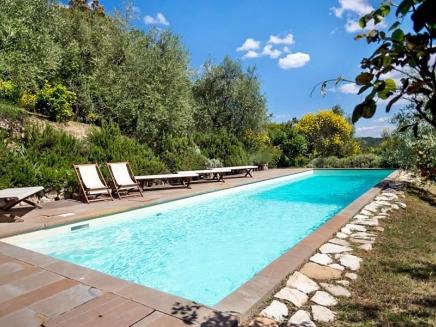 Location villa de vacances avec piscine en toscane alicia for Location toscane piscine