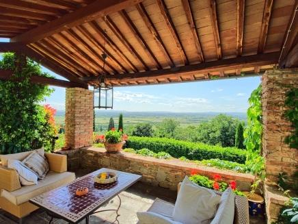 Villa louer en toscane italie avec piscine priv e for Location maison piscine italie