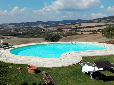 Maison de vacances avec piscine louer en toscane for Location toscane piscine